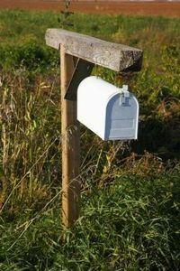 Mailbox Ideas Wedding Diy Post