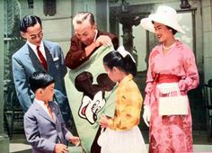 King bhumibol and walt disney