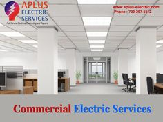 Your #office faces a #electrical issue every time? You cannot figure out how to #deal with it? Call us now for the best #Commercial #electricalservice in #Denver.