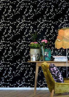 Scandinavian 'mimou' Wallpaper