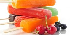 Pomegranate, Nectarine, and Raspberry Popsicles... Ummmm YUMMY!!! Have ...