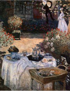 """Luncheon at Argenteuil"": Claude Monet"