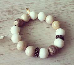 No.7 / Jewelry Bracelet Accessory Fashion Design DIY Handmade Crafts 팔찌 쥬얼리 연예인팔찌 핸드메이드 원석쥬얼리