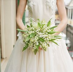 Baby's breath and greenery wedding bouquet: http://www.stylemepretty.com/2017/04/04/a-lavish-soiree-in-new-orleans-french-quarter/ Photography: A Bryan Photo - http://www.abryanphoto.com/