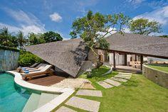 Bali Bali Two | 2 bedroom | Umalas, Bali only 15 minutes to Seminyak | Mix of Modern - traditional Bali style #swimmingpool #unique #villa #exterior #design #bali