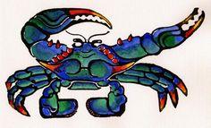 I love this crab.