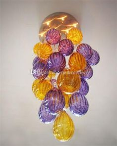 Led Source 100% Hand Blown Borosilicate Glass Dale Chihuly Murano Art Crystal Chandeliers Murano Venetian Style Chandelier Clear Glass Pendant Lighting Glass Pendant Lamp From Newmodern, $502.52| Dhgate.Com