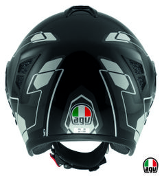 AGV Fiberlight - Future Black/Grey/White