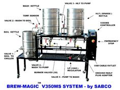 Brew-Magic V350MS by Sabco Details. Perfect for advanced home brewing.  www.brewmagic.com