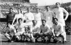After 21 years without winning the league, Di Stéfano led 'Los Blancos' to the title in 1954, scoring 27 goals in 28 games. Around him the club began building the best Real Madrid side of all time, coinciding in 1955 with the birth of a new club tournament championed by Santiago Bernabéu: the European Cup.   The star of Real Madrid's best-ever side - MARCA.com (English version)
