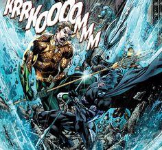 Aquaman vs Ocean Master