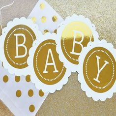Items similar to Its a Girl Banner - Girl Baby Shower Banner - Pink Baby Shower Banner Bling Baby Shower Banner Metallic Silver Gold Foil Banner on Etsy Bling Baby Shower, Gold Baby Showers, Baby Shower Favors, Baby Shower Decorations, Shower Centerpieces, Bridal Showers, 1st Birthday Banners, Baby Banners, Shower Banners