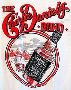 Vintage Charlie Daniels Band concert shirt from the 70s. I drank more JD listening to this band. The devil went to Georgia and I followed him more often than I wanted to.