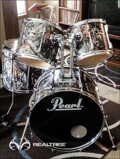 Realtree Camo Drum Set #Realtreecamo