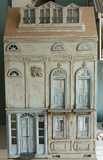 French Inspired Doll House ~ Beautiful Architecture @Rosalyn Smith (this reminds me of you!)
