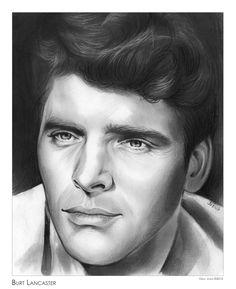 Burt Lancaster by gregchapin.deviantart.com on @DeviantArt