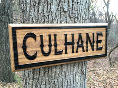 Engraved Wood Sign with Name, Family Name Wood Sign, Custom Carved Sign, Personalized Wooden Sign, Housewarming Gift, Engraved Wood Sign