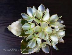 灯花堂☆ 簪・かんざし 紫陽花 『瑞羽・mizuha』 _画像2