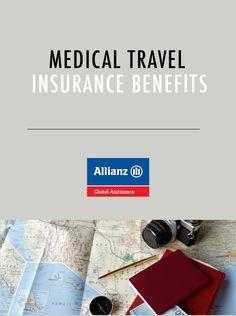 Medical travel insurance benefits