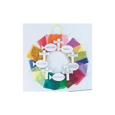 Ten Commandments Wreath Craft Kit (Makes 24) Toys