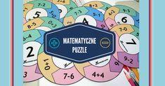Matematyczne puzzle dodawanie i odejmowanie w zakresie 10