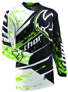 Thor Mens Phase Splatter Motocross Jersey http://downhill.cybermarket24.com/thor-mens-phase-splatter-motocross-jersey-green-medium/