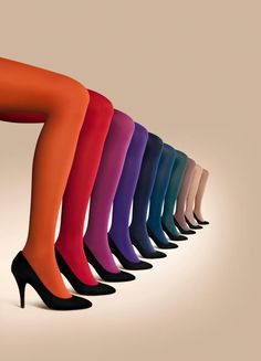 """Wearing my Falke tights for my feature in Whole Living magazine's """"My Stylosophy"""" page. Great tights do so many things at once: They can act …"""