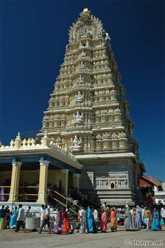 India - Chamundeshwari Temple in Mysore, India. Must visit site if you are in south India