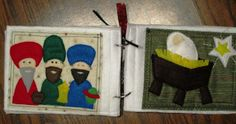 T's Simple Creations: quiet book Nativity