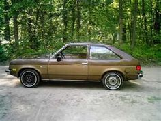 Chevy Chevette- my 1st car