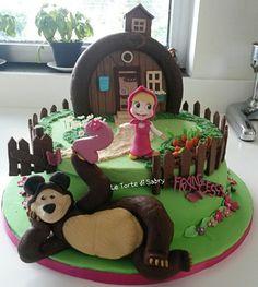 Masha e orso cake