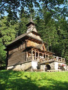 Jaszczurówka Chapel, Zakopane, Tatra Mountains, Poland