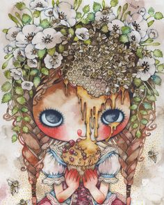 Illustration,girl,Tama(たま) one of my favorite artists