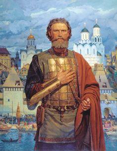 Viktor Matorin. Holy Right-believing Prince Dmitri Donskoi of Moscow. 2004