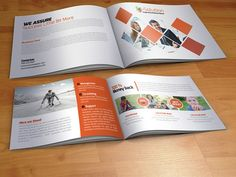Bi Fold Business Brochure  Brochures    Welcome Package