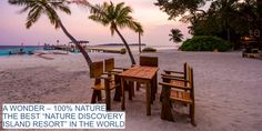 """This is Maldives on Twitter: """"A WONDER – 100% NATURE! THE BEST """"NATURE DISCOVERY ISLAND RESORT"""" IN THE WORLD. #aaaVeee #Maldives https://t.co/0RtAPRmOKX"""""""