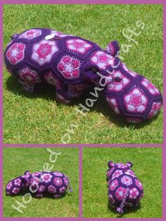 Heidi Nears Hippo by Hooked on Handicrafts. See us on Facebook and please like our page. Orders taken