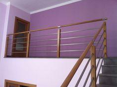 Barandilla de madera / de en acero inoxidable MISTRAL Escaleras Yuste