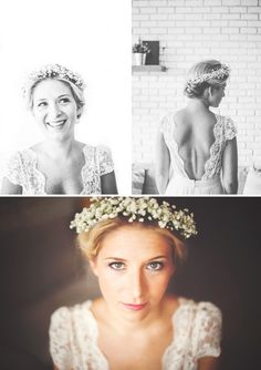 Single bun and gypsophila crown – Outfit Inspiration & Ideas for All Occasions Fancy Hairstyles, Bride Hairstyles, Light Strawberry Blonde, Hippie Chic Fashion, Boho Vintage, Hairdo Wedding, Blonde Women, Woodland Wedding, Chignon Simple