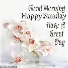 Good Morning Happy Sunday Image