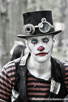 clown makeup - Halloween Costumes 2013