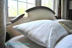Upholstering An Old Headboard ~ How To