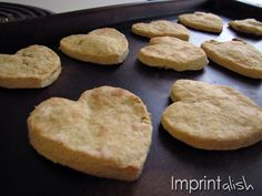 Homemade Baby Teething Biscuits how-to. No Sugar added! Use baby cereal & bananas!