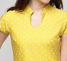 Chinese Collar Neck Designs 2017 for Kurti Shirt Kameez Salwar   PakistaniLadies.Com