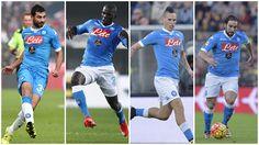 Serie A, 4 giocatori del Napoli nella top 11 della 19ª giornata