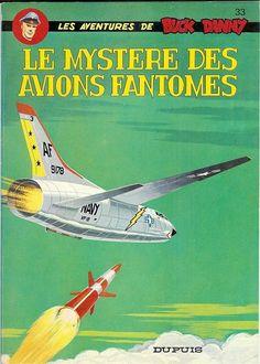 Buck Danny -33- Le mystère des avions fantômes - 1966