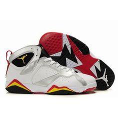 44d09a1db air jordan 7 retro white black and yellow sneakers mens 27707