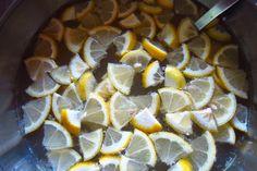 Aux petits oignons: Marquisette au citron pour l'apéro