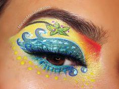 """""""Just Beachy"""" Makeup Art  #beauty  #makeup"""