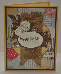 Snippets By Design: A Belated Birthday Card for My Sister